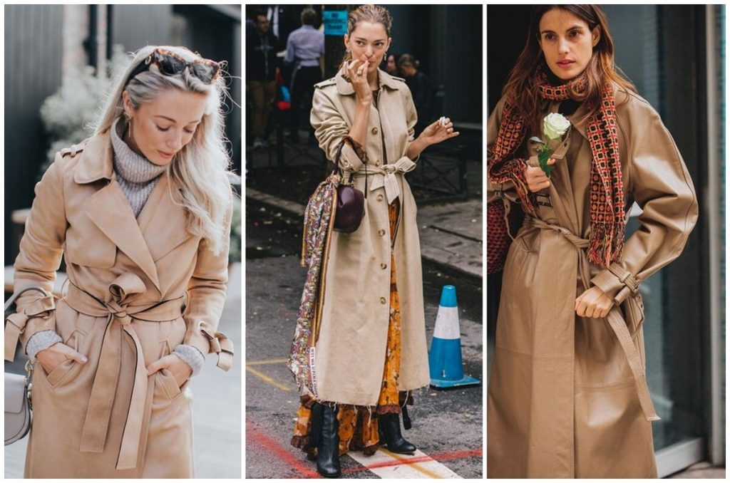 Модницы завязывают шарфы на шее и ремешках сумки.