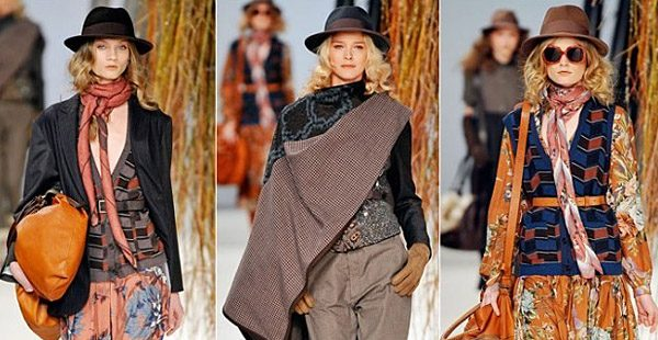 Женщины, одетые в стиле бохо выглядят привлекательно и ярко