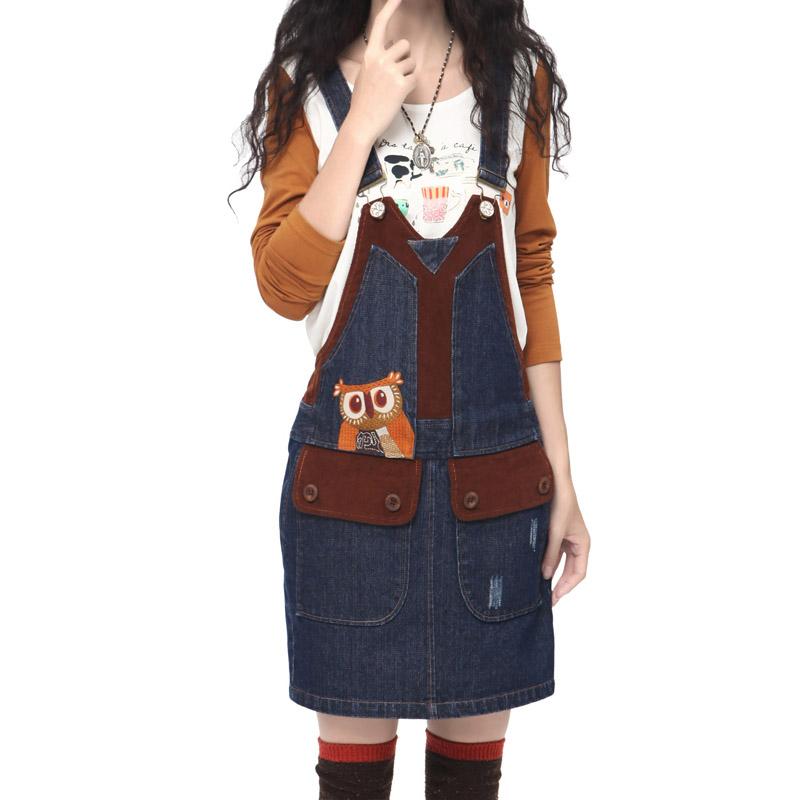 Оригинальный сарафан-фартук в стиле бохо - забавная часть образа молоденькой леди