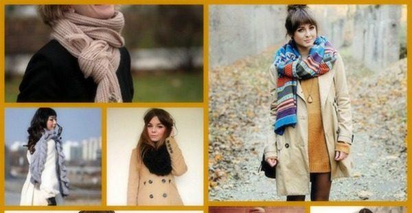 Дизайнеры предлагают огромное разнообразие сочетания шарфов и пальто в актуальных модных капсулах
