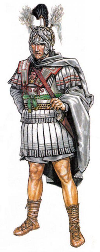 Римские легионеры надевали прототип современного шарфа под доспехи