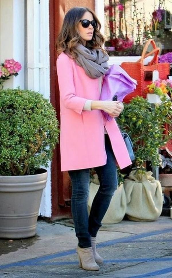 Розовый и серый - беспроигрышный микс цветов в любых вариантах сочетаний
