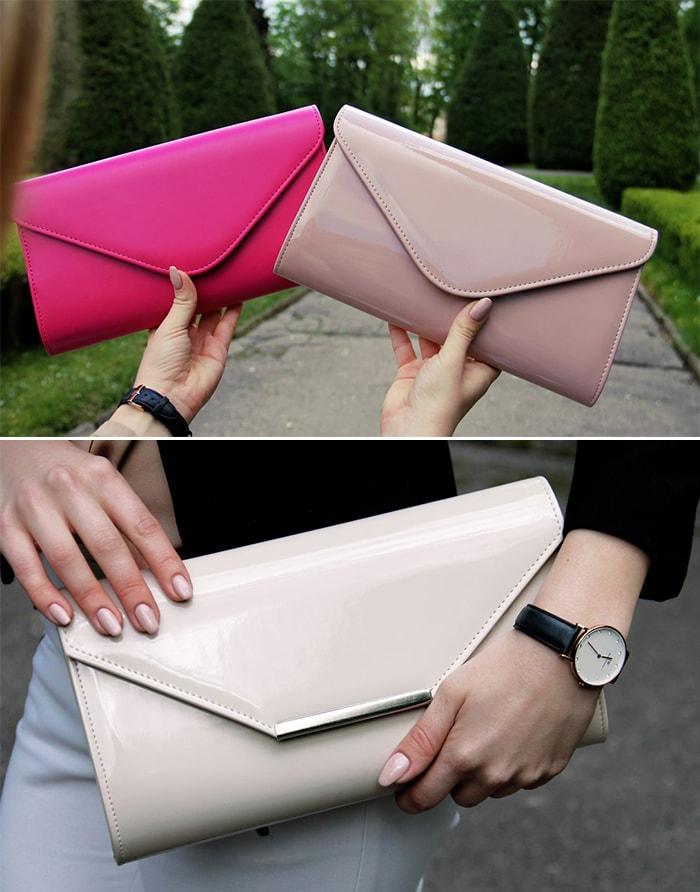 Существуют и компактные варианты сумки-конверта.