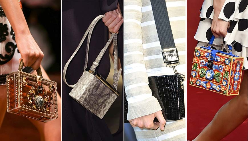 Элитные бренды украшают изделия красивым рельефом, интересными принтами и дорогими камнями.