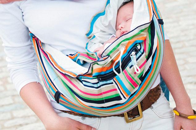 Слинг в классическом понятии — сумка для младенцев.