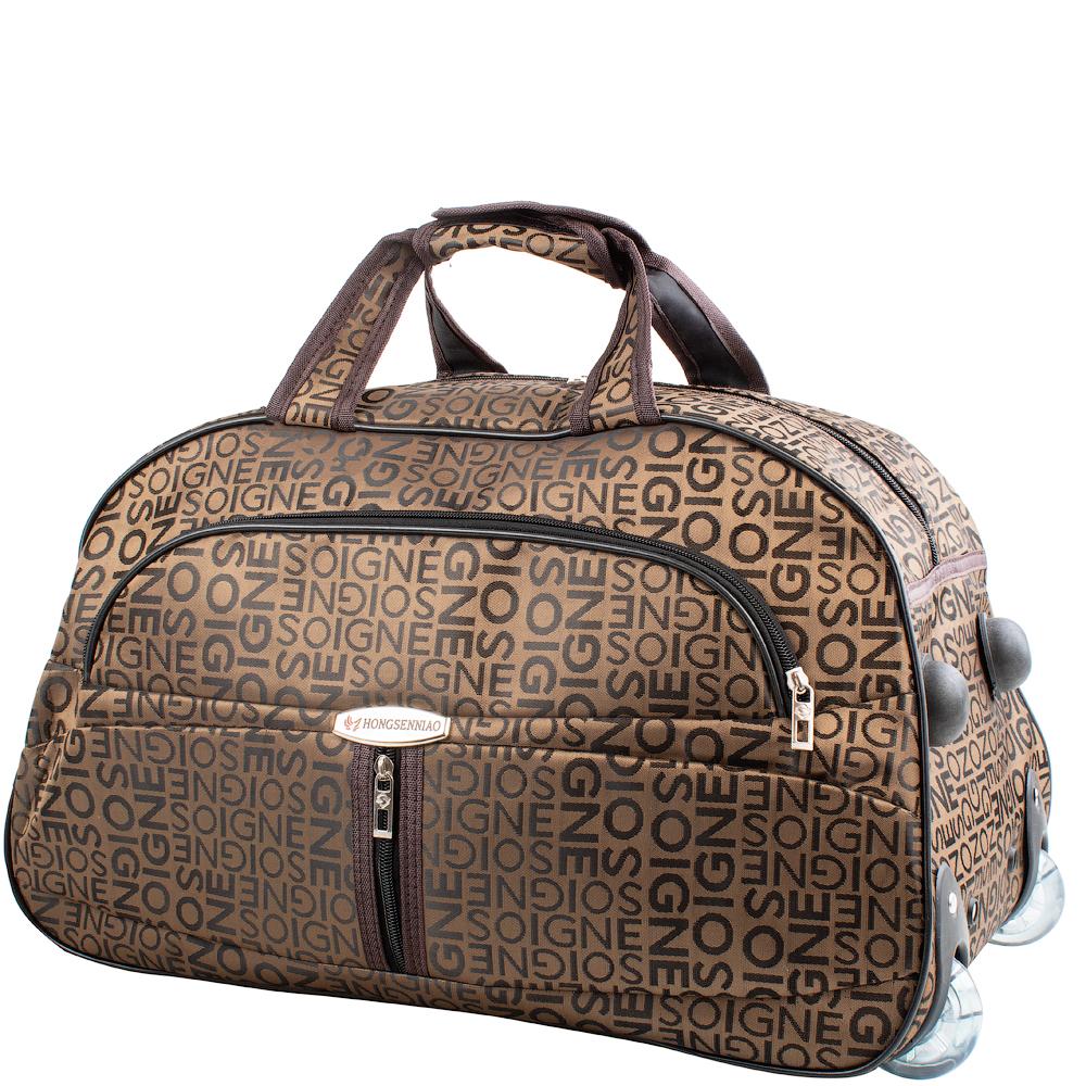 Для дорожной сумки характерны большие габариты.