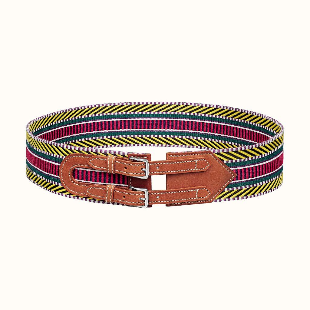 Цветная текстильная модель Hermes