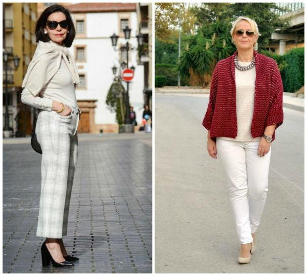 Используйте спокойные тона в одежде либо 1-2 вещи более насыщенного цвета.
