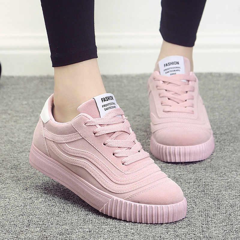 Кеды нежно-розового цвета подойдут утонченным девушкам.
