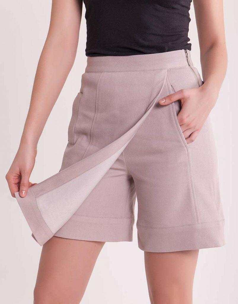 Юбка-шорты — удобный элемент гардероба.