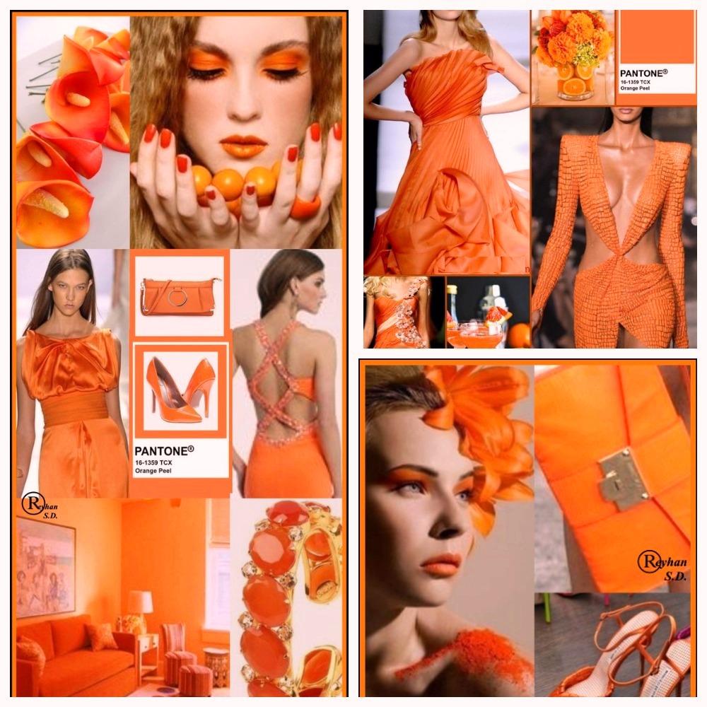 PANTONE 16-1359 Orange Peel (Апельсиновая корка)