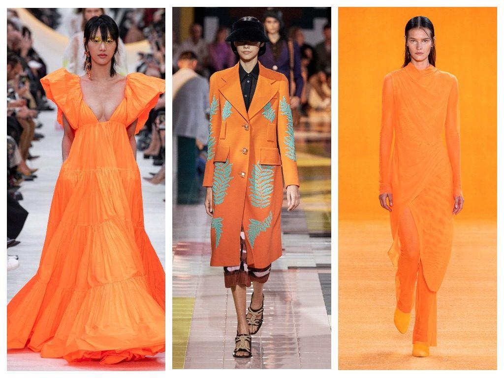 Valentino, Prada, Sally LaPointe весна-лето 2020