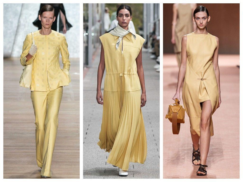 Akris, Lacoste, Hermès весна-лето 2020