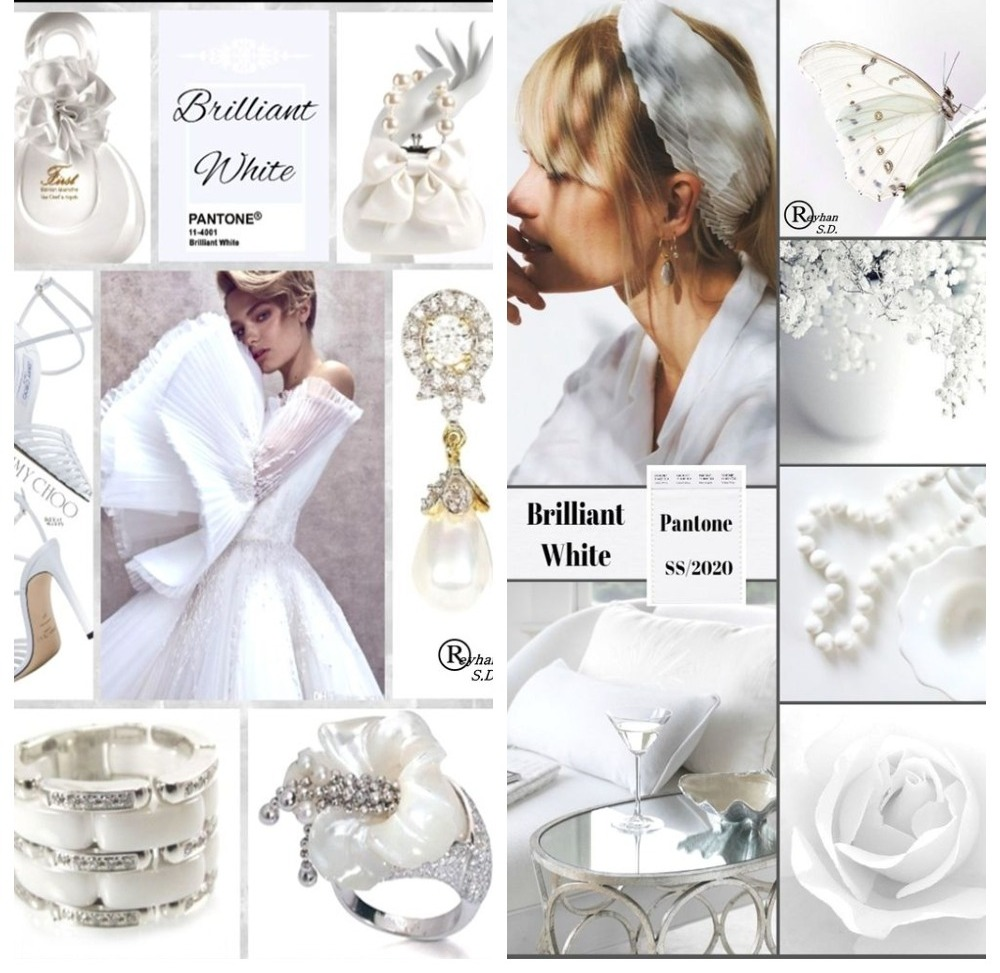 PANTONE 11-4001 Brilliant White (Бриллиантовый белый)
