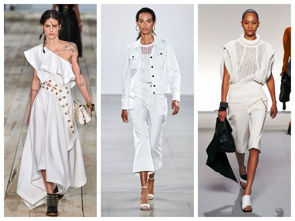 Alexander McQueen, Elie Tahari, Givenchy весна-лето 2020