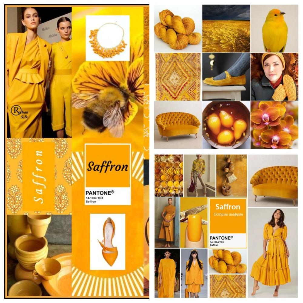 PANTONE 14-1064 Saffron (Шафран)