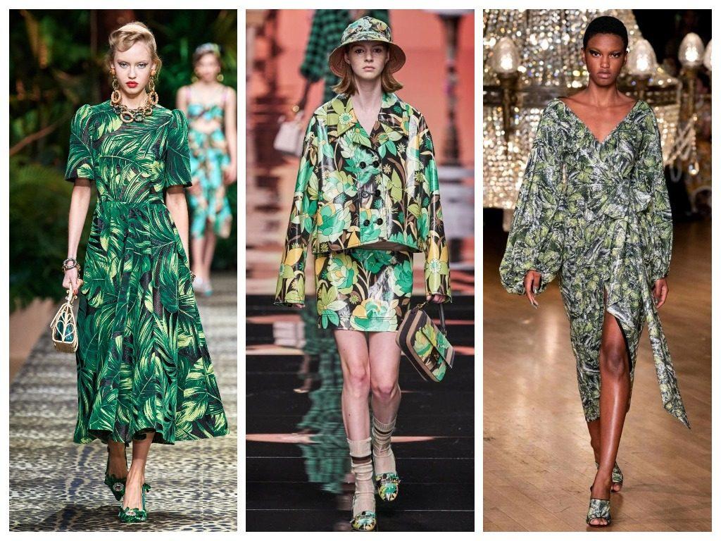 Dolce & Gabbana, Fendi, Halpern весна-лето 2020