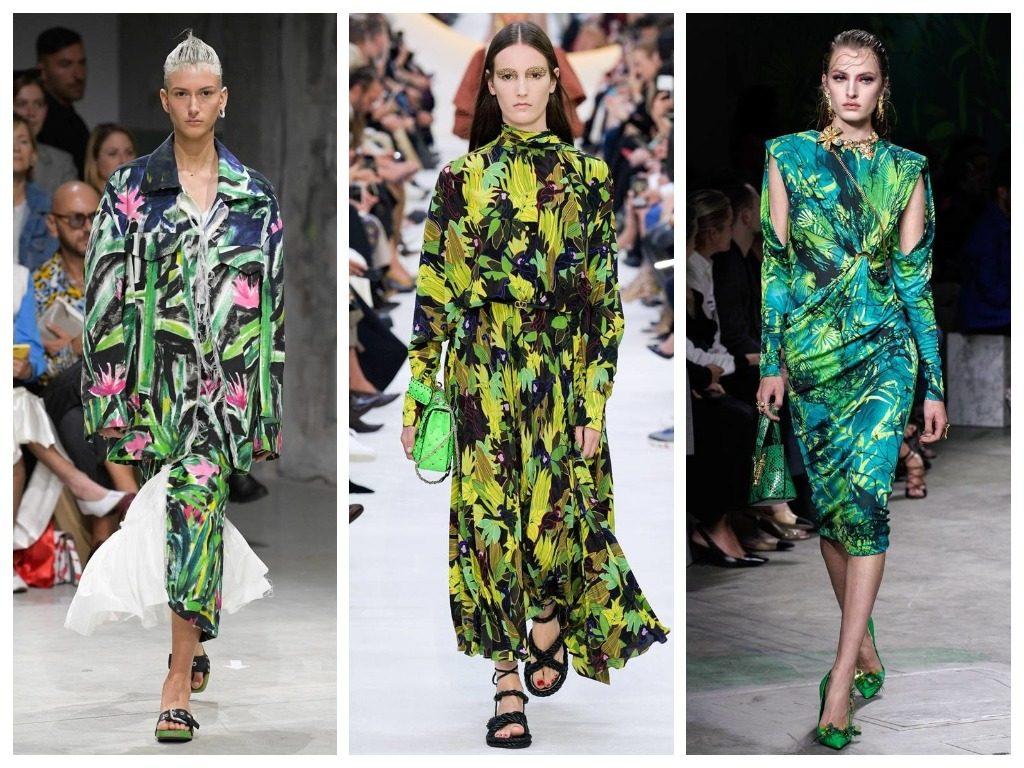 Marni, Valentino, Versace весна-лето 2020