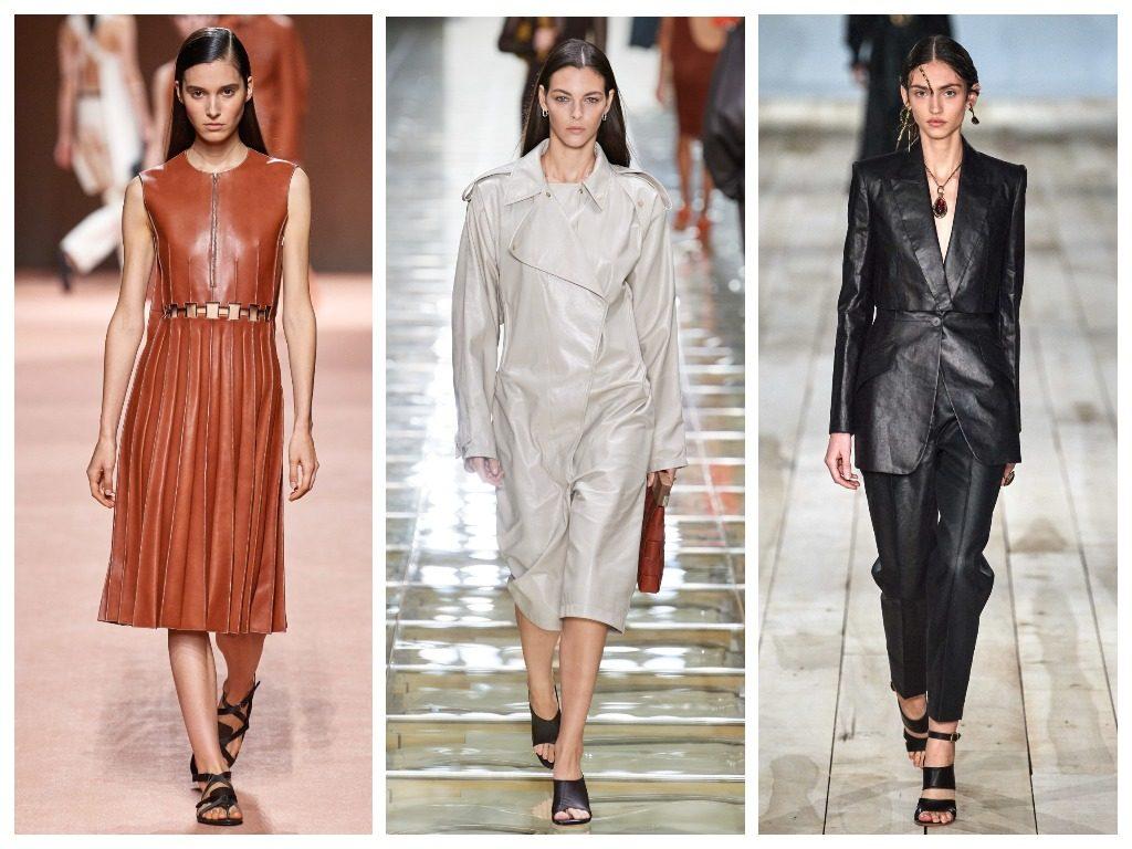 Hermès, Bottega Veneta, Alexander McQueen весна-лето 2020