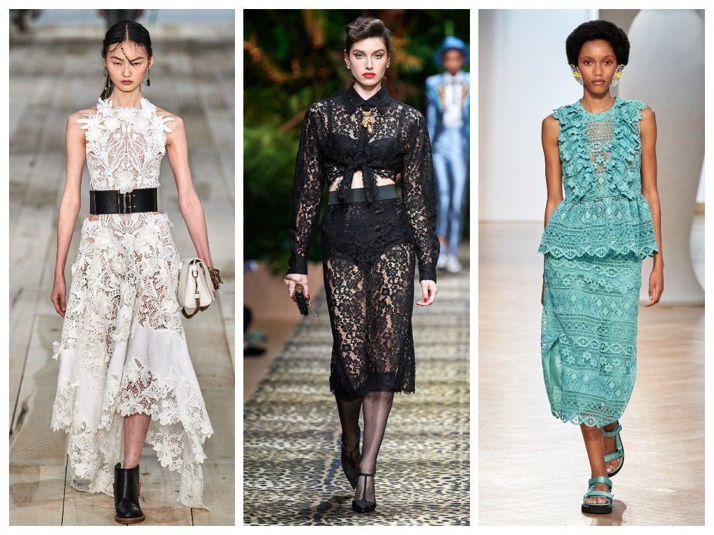 Alexander McQueen, Dolce & Gabbana, Vivetta весна-лето 2020