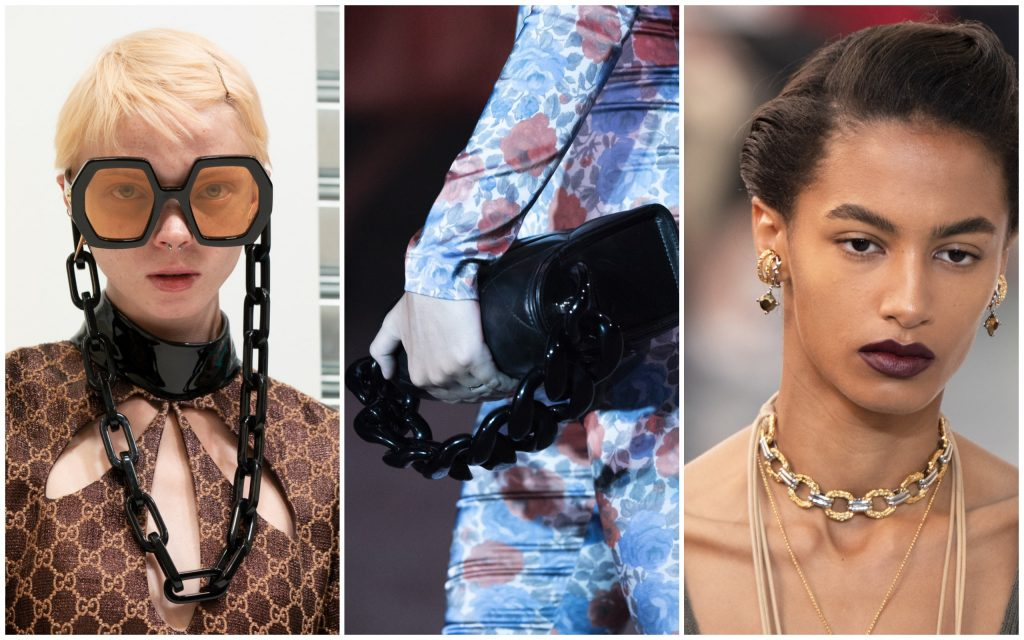 Gucci, Marques Almeida, Chloe весна-лето 2020