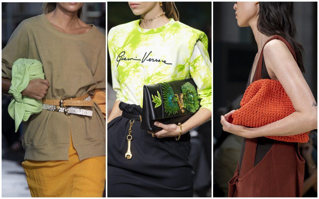 Rejina Pyo, Versace, Bottega Veneta весна-лето 2020