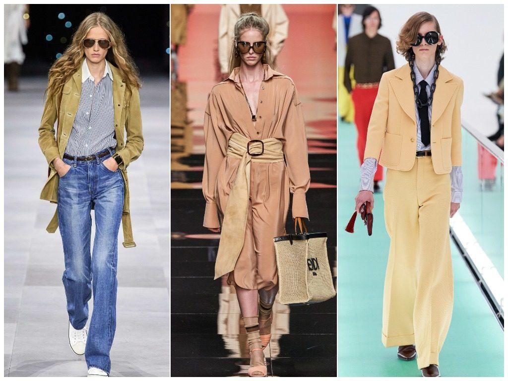 Celine, Fendi, Gucci весна-лето 2020