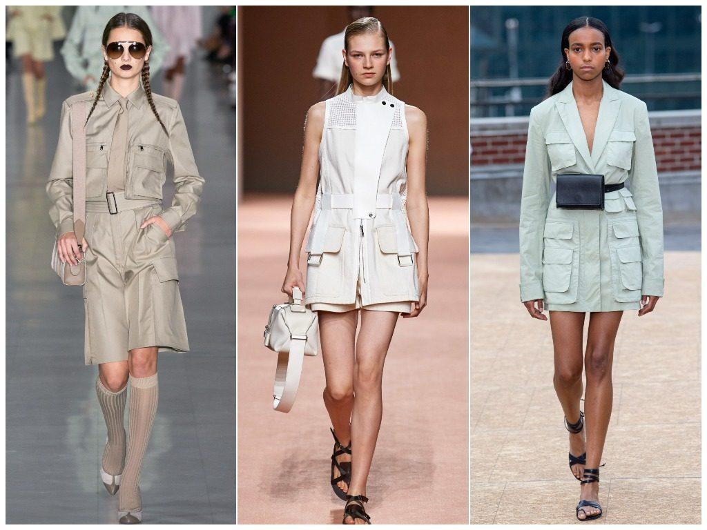 Max Mara, Hermès, Jonathan Simkhai весна-лето 2020