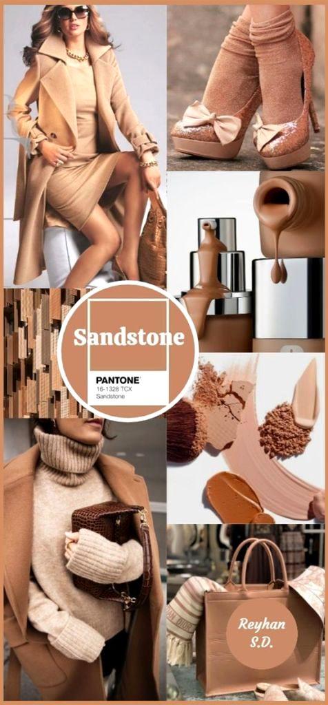 PANTONE 16-1328 Sandstone (Песчаник)