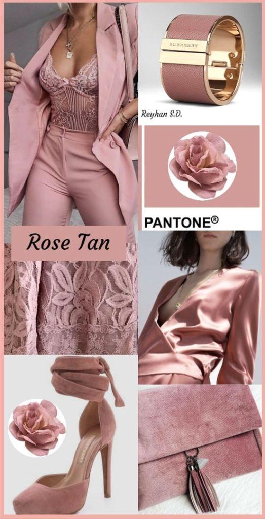 PANTONE 16-1511 Rose Tan (rosa scuro)