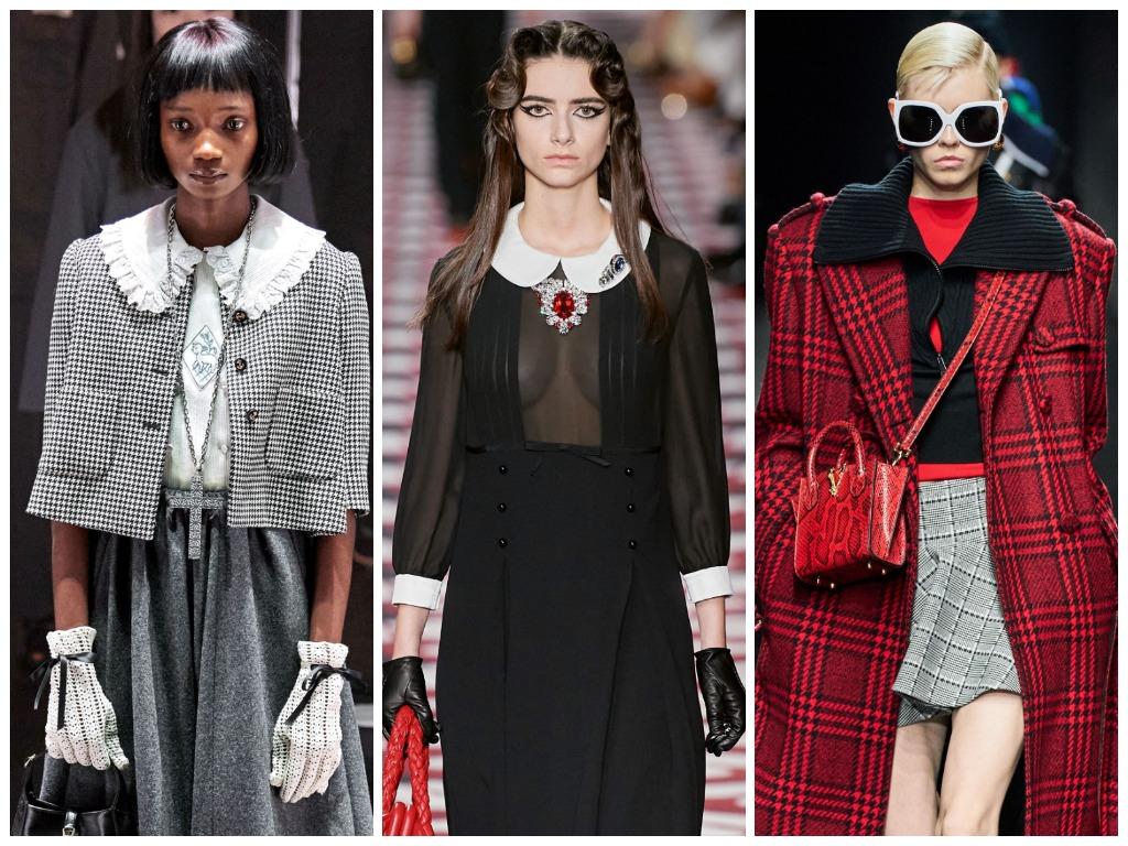 Gucci, Miu Miu, Versace
