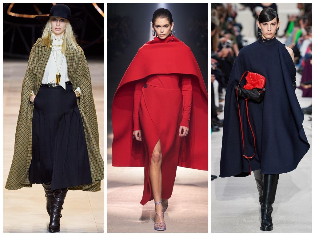 Celine, Givenchy, Valentino