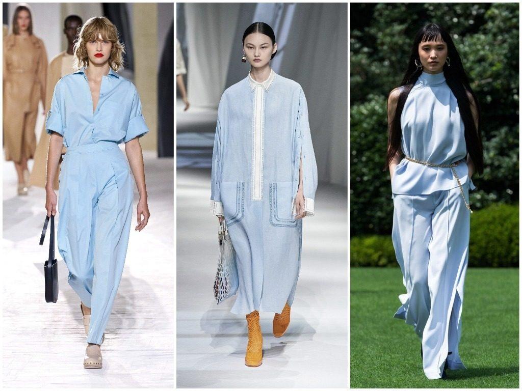 Hermès, Fendi, Adeam весна-лето 2021