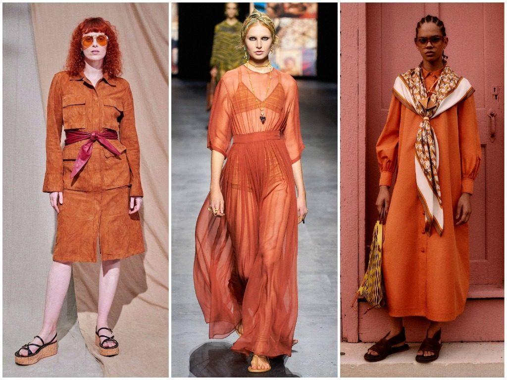 Tod's, Christian Dior, Tory Burch весна-лето 2021