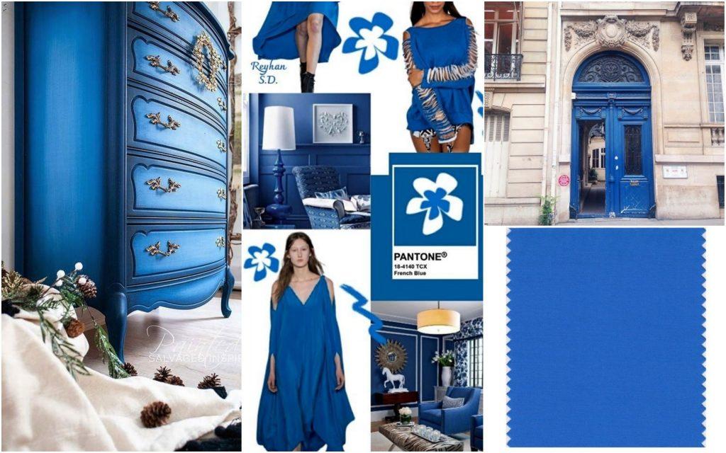 PANTONE 18-4140 French Blue (Французский синий)