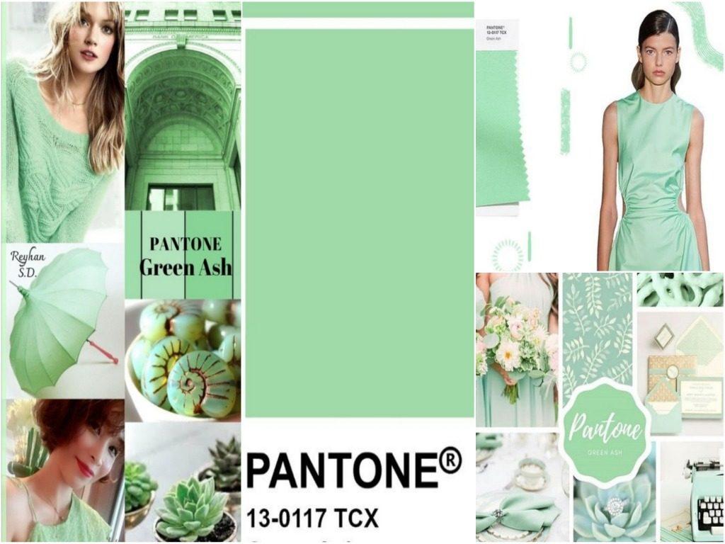 PANTONE 13-0117 Green Ash (Зеленый ясень)