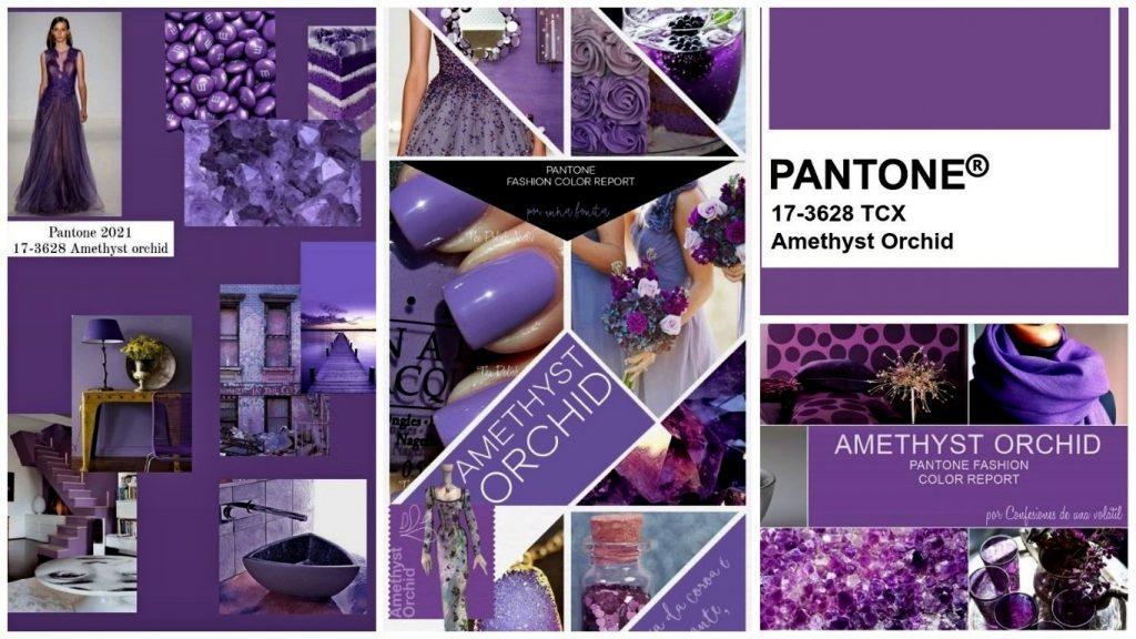 PANTONE 17-3628 Amethyst Orchid (Аметистовая орхидея)
