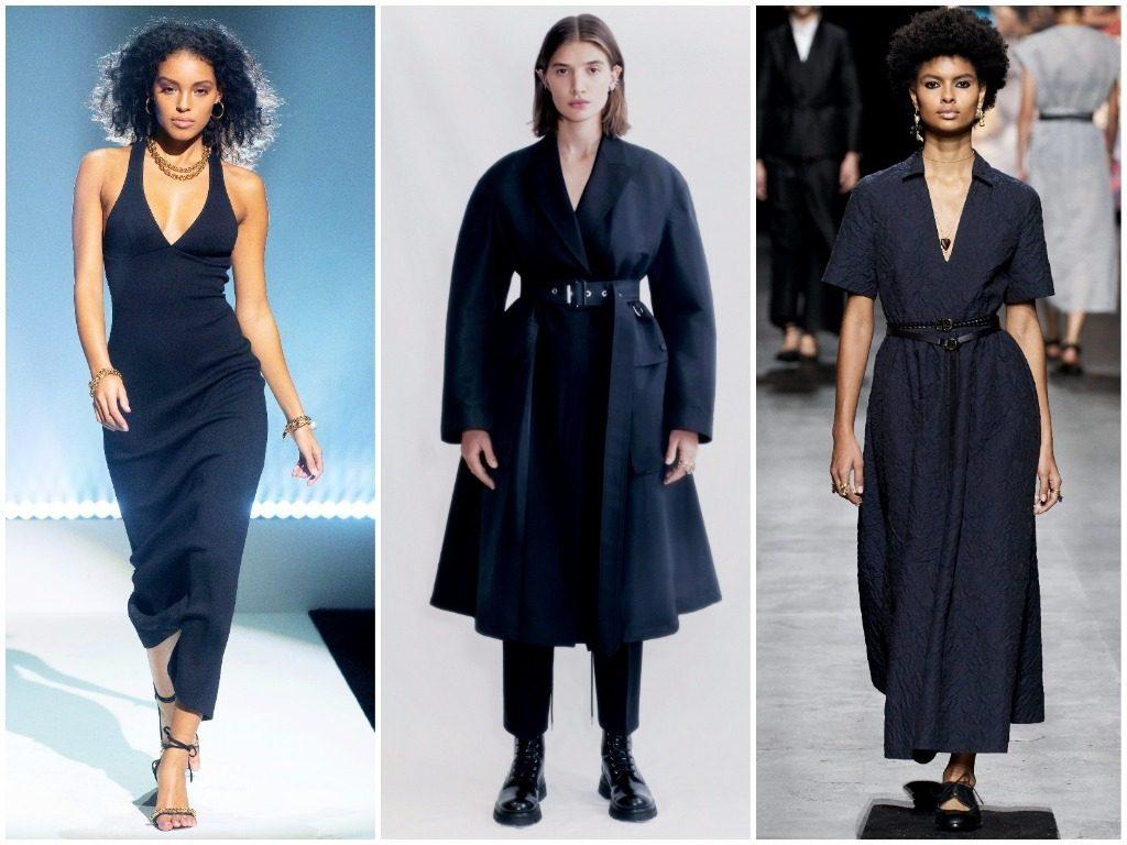 Brandon Maxwell, Alexander McQueen, Christian Dior весна-лето 2021