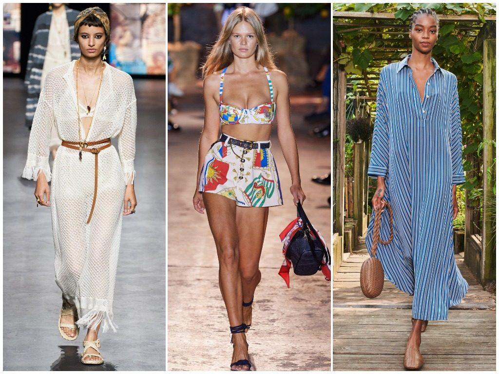 Christian Dior, Etro, Michael Kors Collection весна-лето 2021