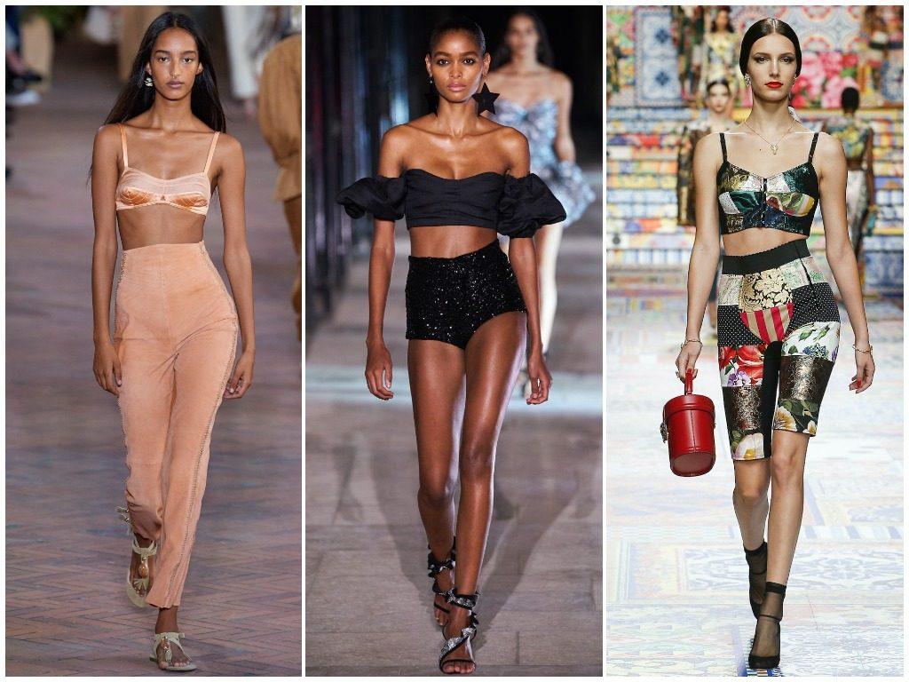 Alberta Ferretti, Isabel Marant, Dolce & Gabbana весна-лето 2021