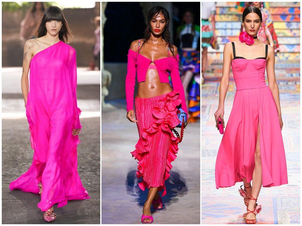 Valentino, Versace, Dolce & Gabbana весна-лето 2021