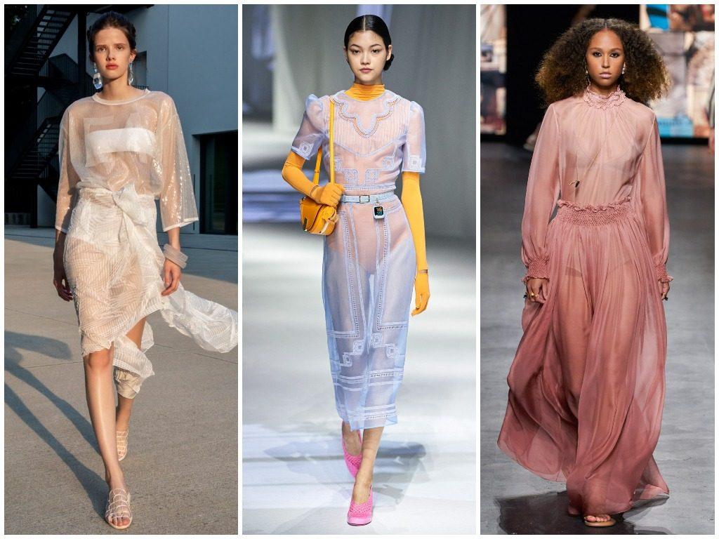 Emporio Armani, Fendi, Christian Dior весна-лето 2021