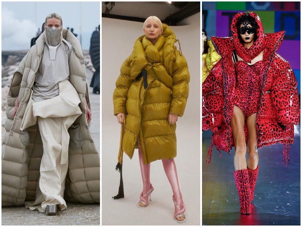 Rick Owens, Ottolinger, Dolce&Gabbana осень-зима 2021-2022