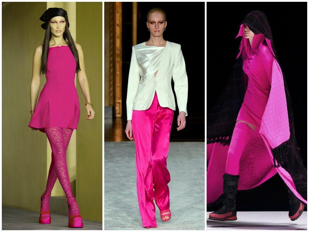 Versace, Christian Siriano, Kenzo 2021-2022