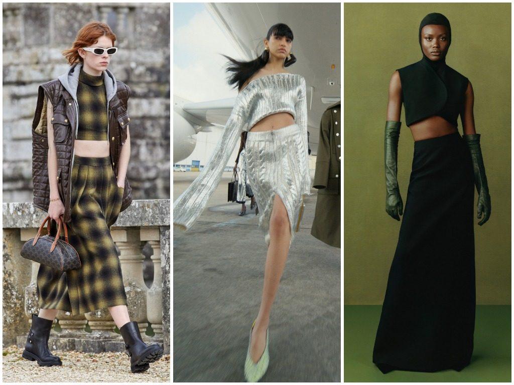 Celine, Balmain, Fashion East осень-зима 2021-2022