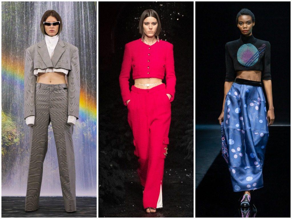 Vetements, Chanel, Giorgio Armani осень-зима 2021-2022