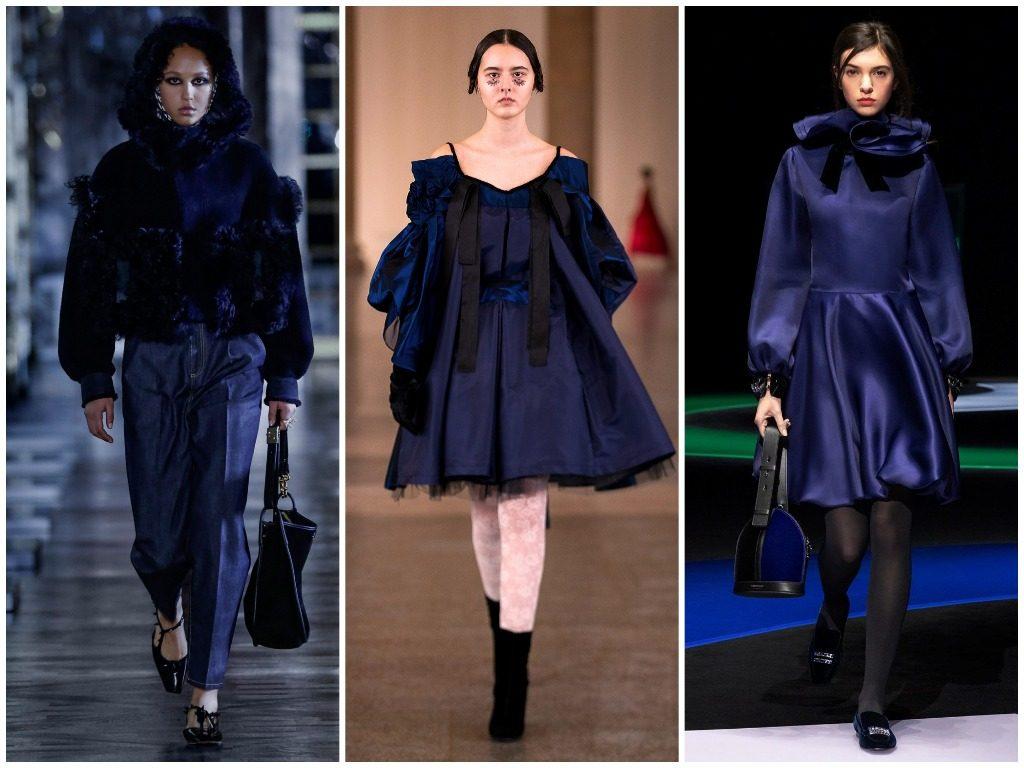 Christian Dior, Bora Aksu, Emporio Armani осень-зима 2021-2022