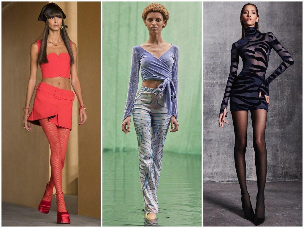 Versace, Maisie Wilen, LaQuan Smith осень-зима 2021-2022