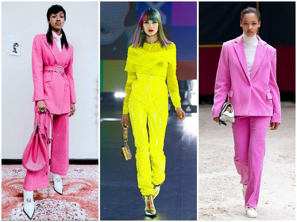Thebe Magugu, Dolce & Gabbana, Longchamp осень-зима 2021-2022