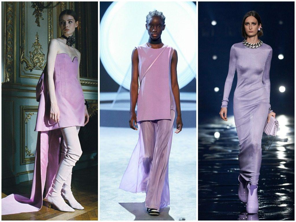 Lanvin, Salvatore Ferragamo, Givenchy осень-зима 2021-2022